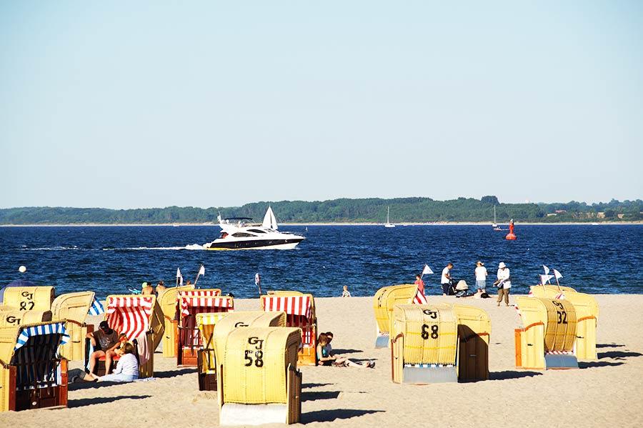 Travemünde in der Lübecker Bucht bietet Urlaub mit schönen Ferienwohnungen oder im Ferienhaus oder Hotel