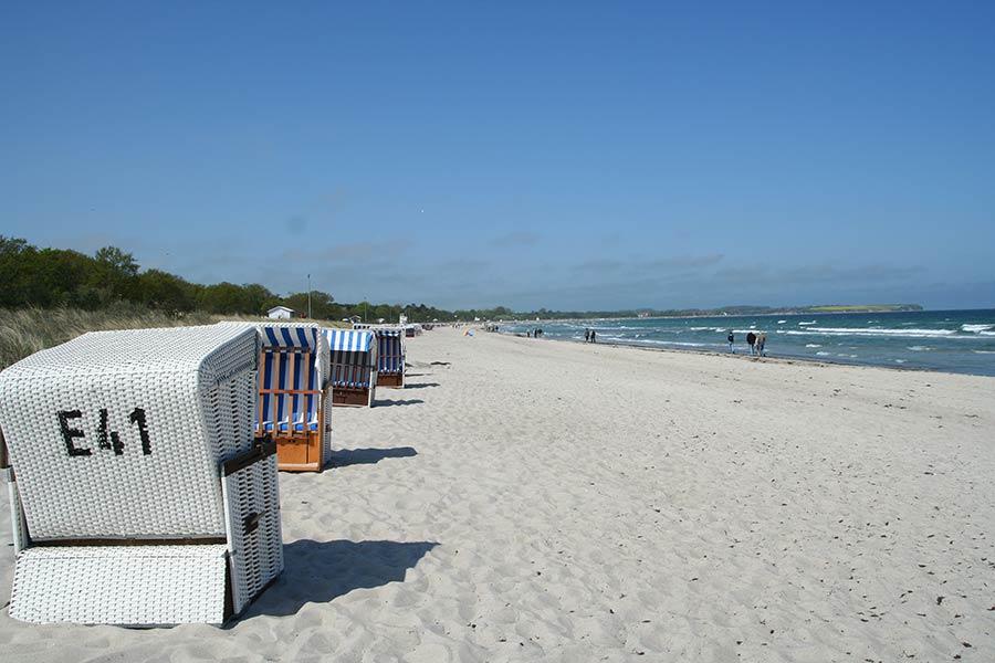 Boltenhagen bietet ruhigen Urlaub mit schönen Ferienwohnungen oder im Ferienhaus oder Hotel