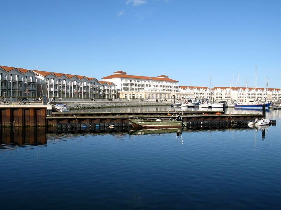 Urlaub in boltenhagen in der neuen Marina, Yachthafen in der Lübecker Bucht